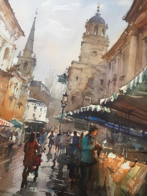 architectural water colors 25