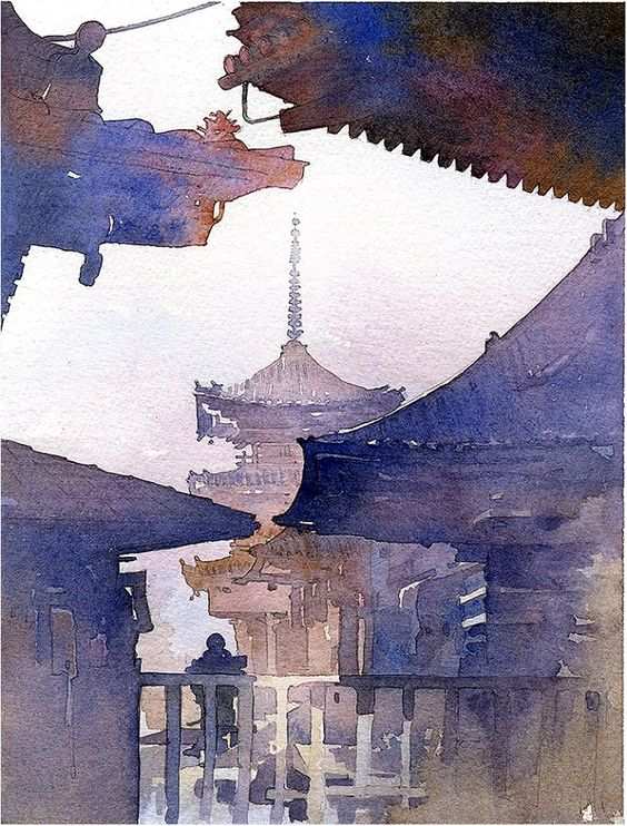 architectural water colors 5