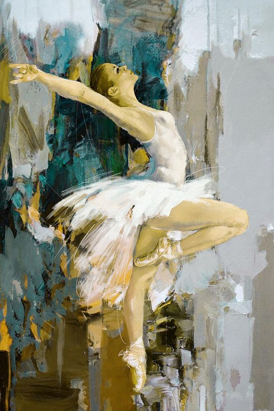 Divine Dance Paintings That Make You See The Movement In