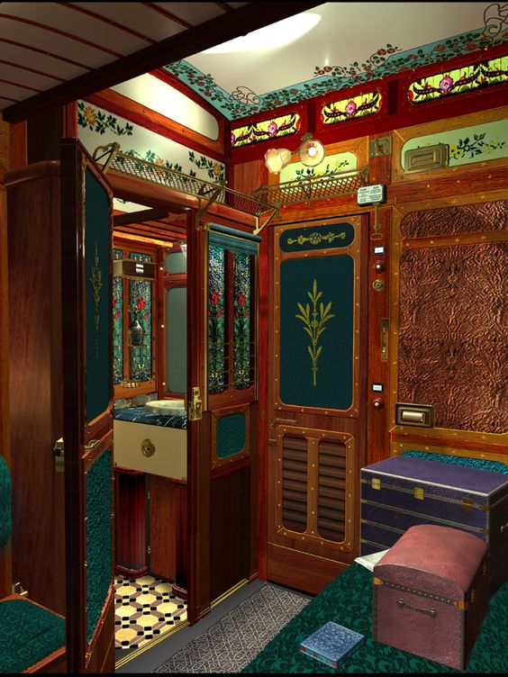 Luscious And Lovely Luxury Train Interiors Bored Art