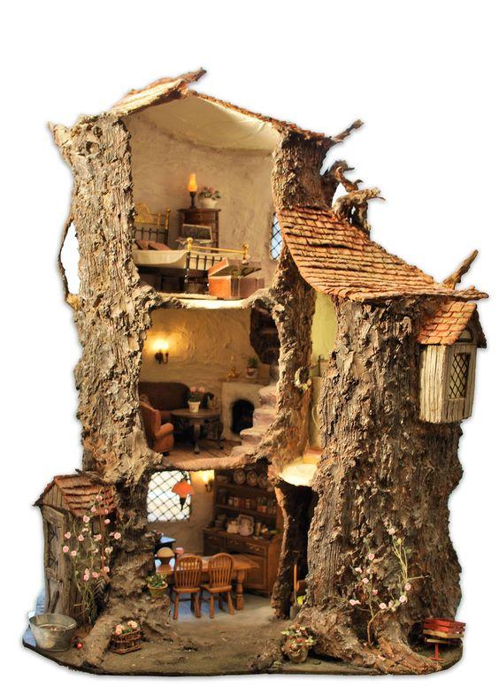 miniature tree houses 11