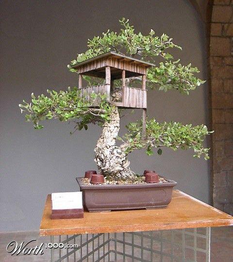 miniature tree houses 2