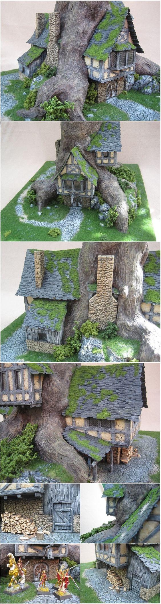 miniature tree houses 20