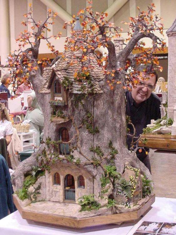 miniature tree houses 21