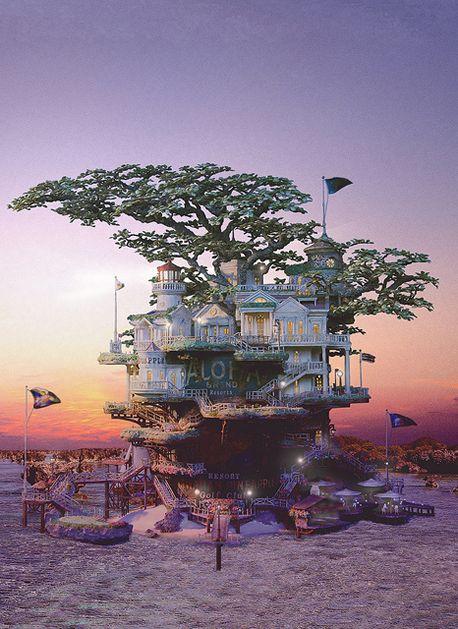 miniature tree houses 27