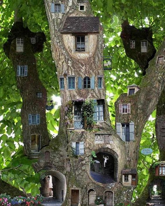 miniature tree houses 8