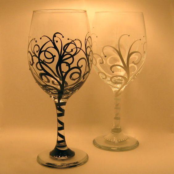Vitally Wonderful Wine Glass Designs To Make You Smile Bored Art