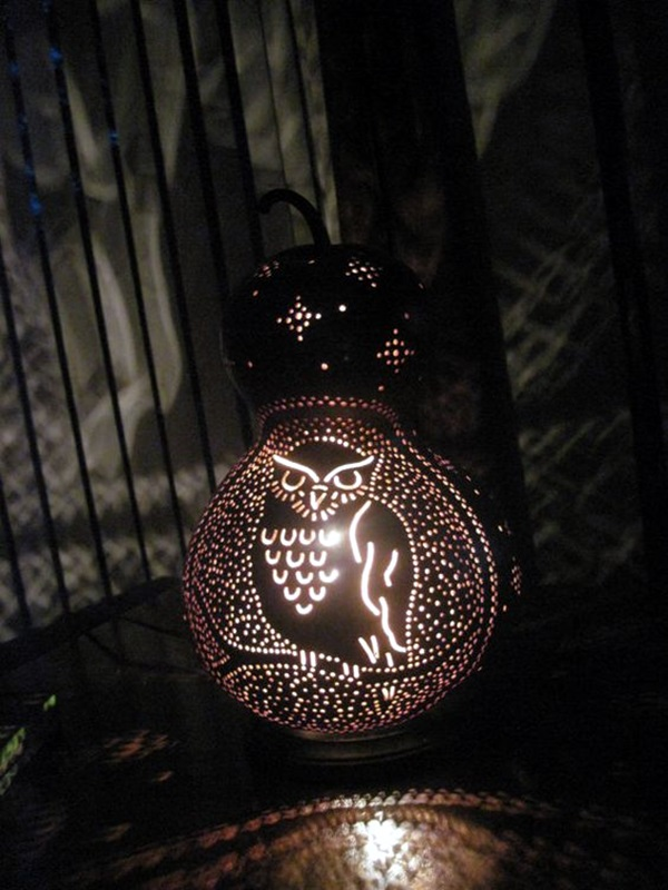 Amazing Art Inspired Gourd Lamps (1)