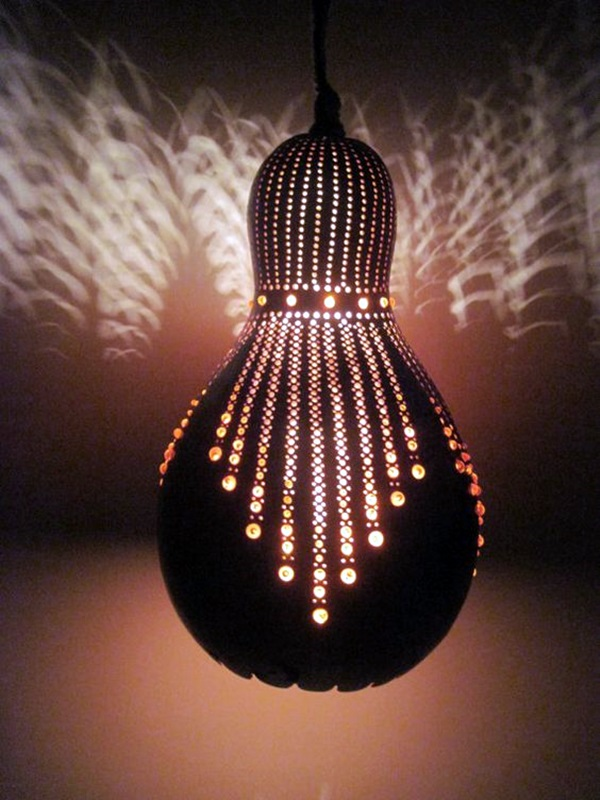 Amazing Art Inspired Gourd Lamps (12)