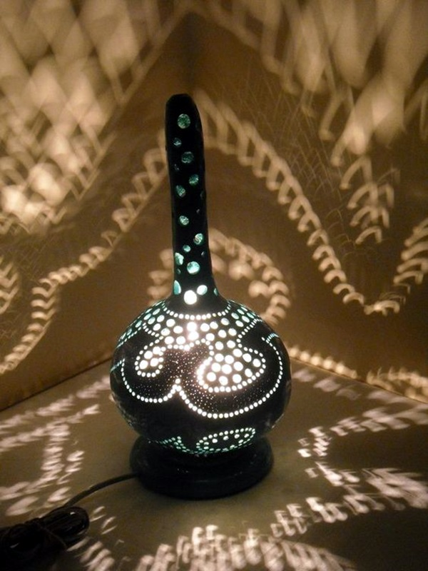 Amazing Art Inspired Gourd Lamps (19)