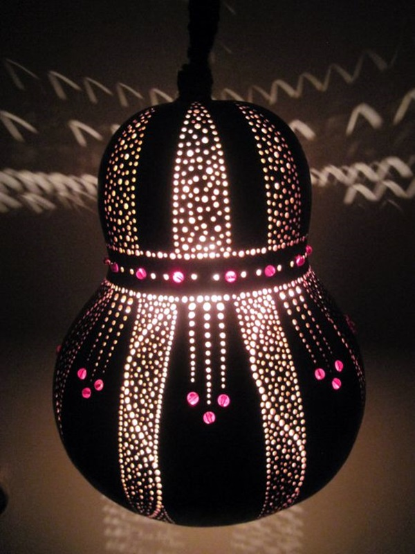 Amazing Art Inspired Gourd Lamps (2)