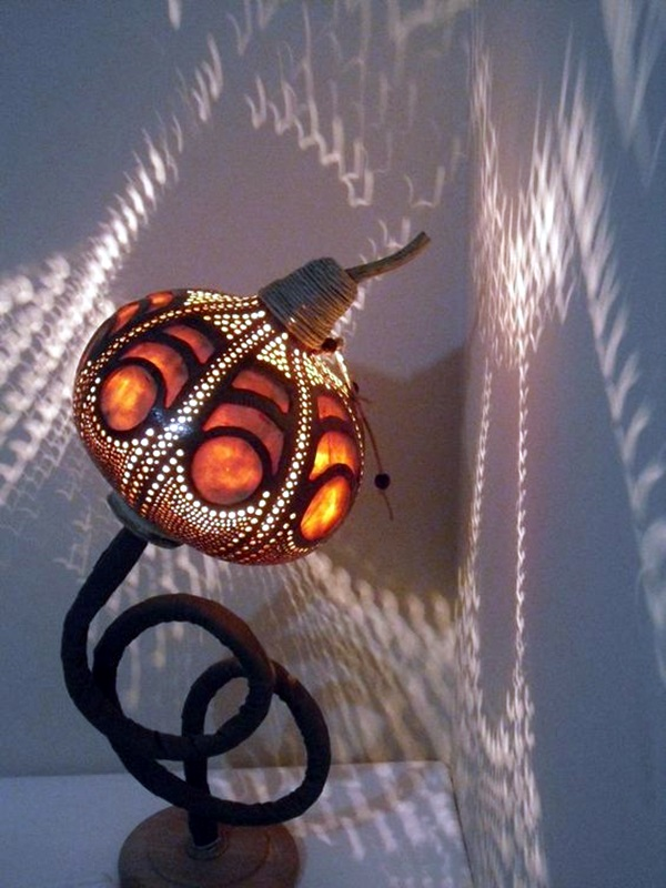Amazing Art Inspired Gourd Lamps (20)