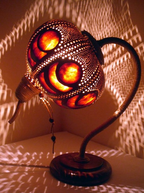 Amazing Art Inspired Gourd Lamps (25)