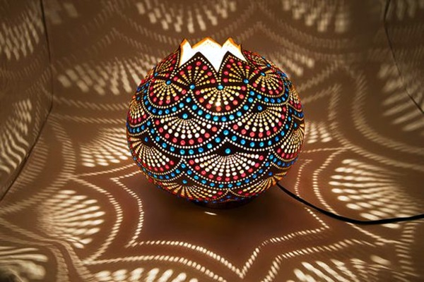 Amazing Art Inspired Gourd Lamps (26)