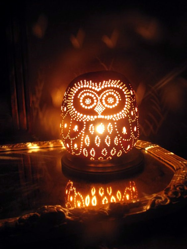 Amazing Art Inspired Gourd Lamps (31)