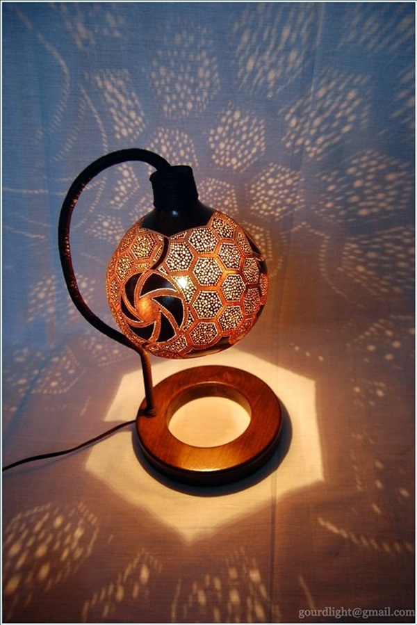 Amazing Art Inspired Gourd Lamps (32)