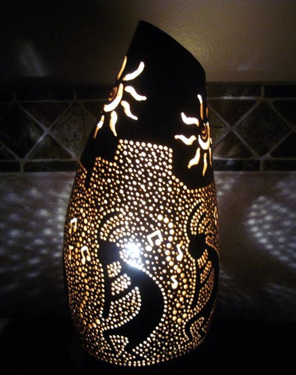 Amazing Art Inspired Gourd Lamps (33)