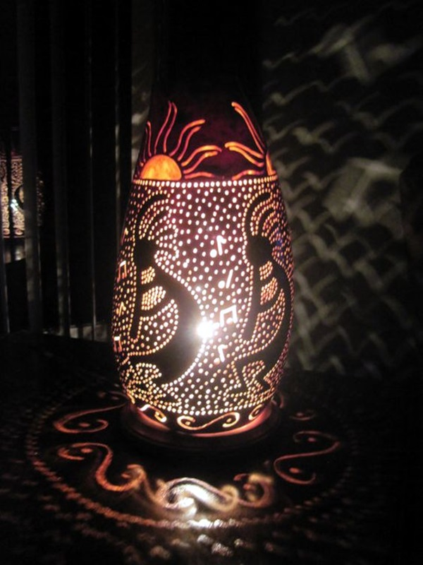 Amazing Art Inspired Gourd Lamps (36)
