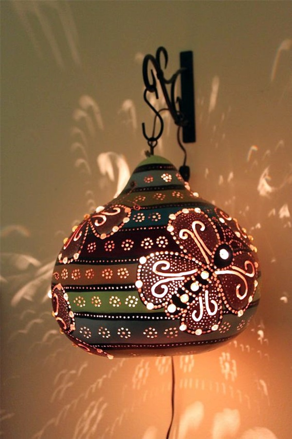 Amazing Art Inspired Gourd Lamps (39)