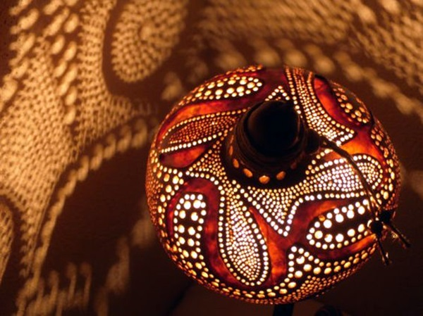 Amazing Art Inspired Gourd Lamps (46)