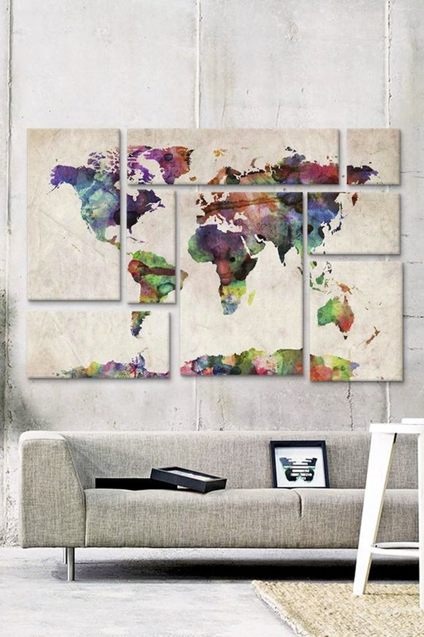 40 Art Panels Decoration To Make Your Wall Look Executive - Bored Art
