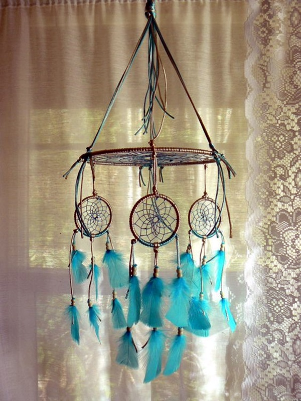 40 diy beautiful and unique dream catcher ideas bored art for Ideas for making dream catchers