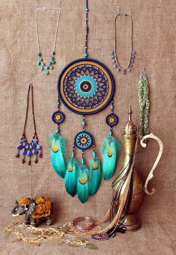 DIY Beautiful and Unique Dream Catcher Ideas (13)