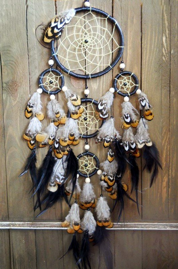 40 diy beautiful and unique dream catcher ideas for Ideas for making dream catchers