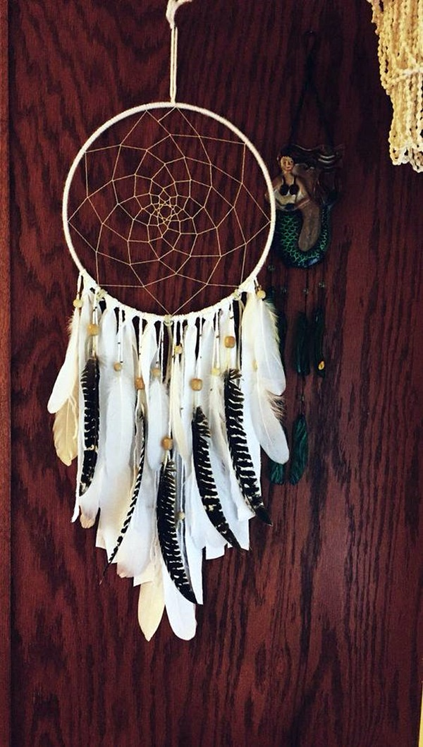 DIY Beautiful and Unique Dream Catcher Ideas (21)