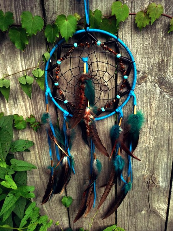 DIY Beautiful and Unique Dream Catcher Ideas (22)