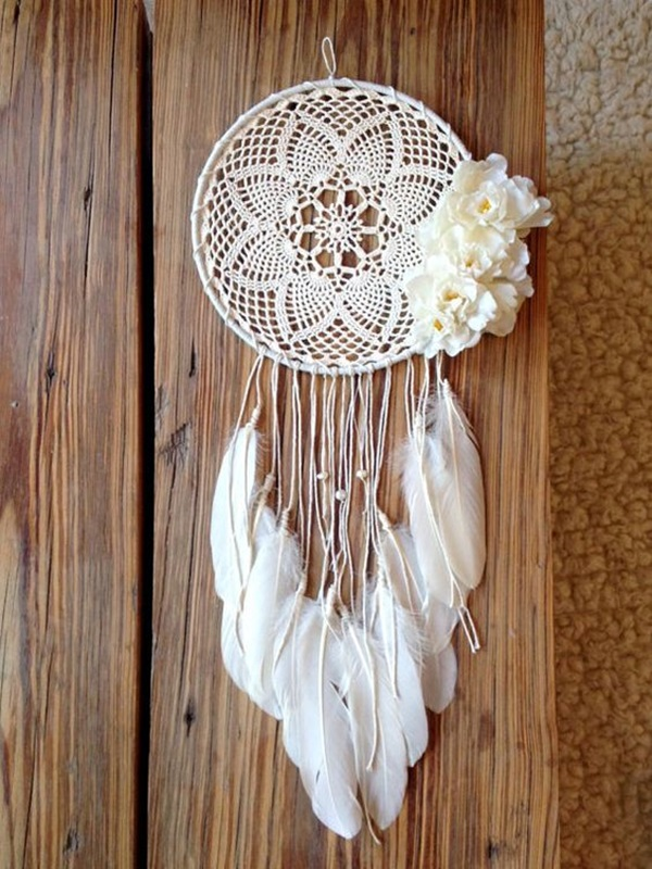 40 diy beautiful and unique dream catcher ideas bored art - Diy attrape reve ...