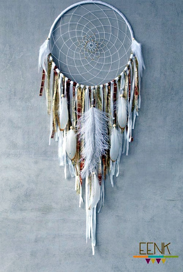 DIY Beautiful and Unique Dream Catcher Ideas (29)
