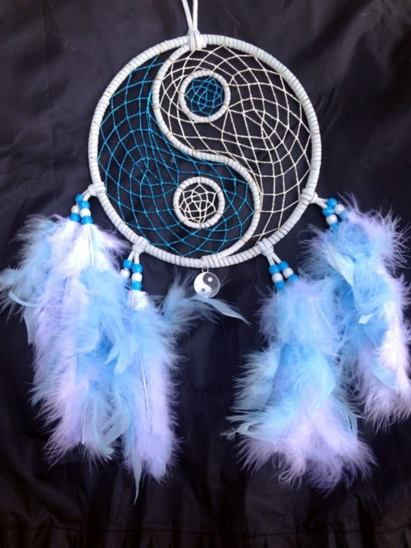 DIY Beautiful and Unique Dream Catcher Ideas (38)