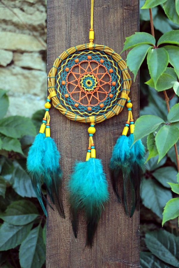 DIY Beautiful and Unique Dream Catcher Ideas (4)