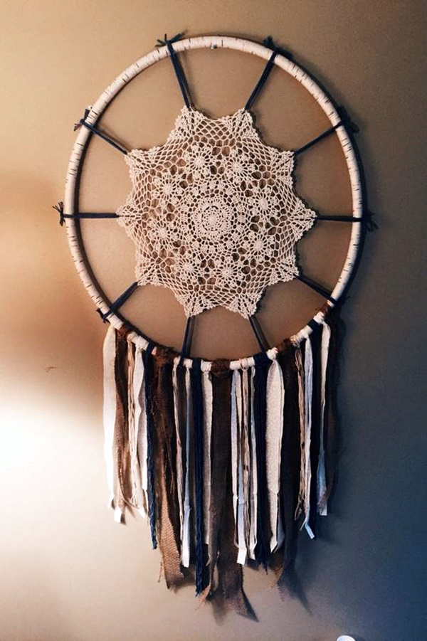 40 diy beautiful and unique dream catcher ideas for How to make dreamcatcher designs