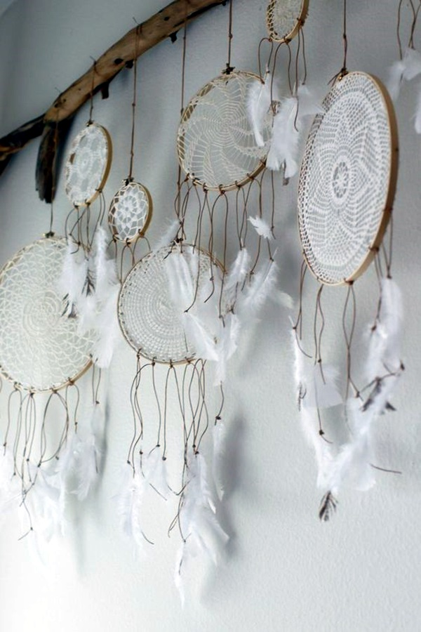 40 diy dream catcher ideas for decoraion for Ideas for making dream catchers