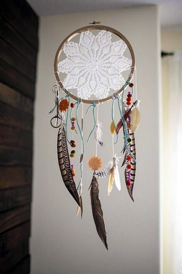 40 diy dream catcher ideas for decoraion for How to make home decorations