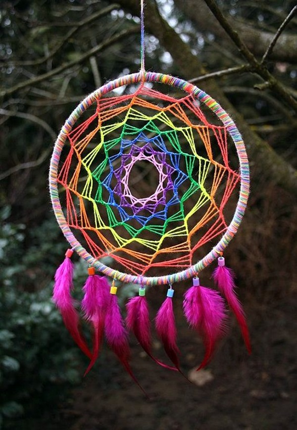 DIY Dream Catcher Ideas For Decoraion (25)
