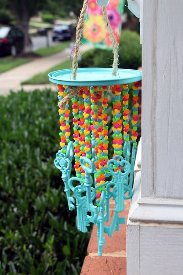 DIY Wind Chime Ideas to Try This Summer (30)
