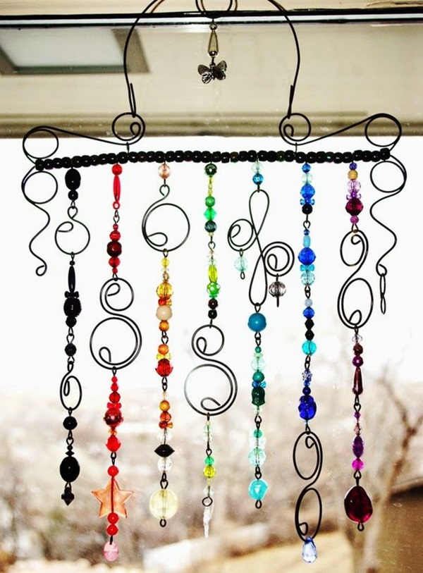 DIY Wind Chime Ideas to Try This Summer (36)