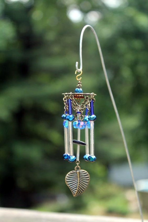 40 diy wind chime ideas to try this summer bored art for Homemade chimes
