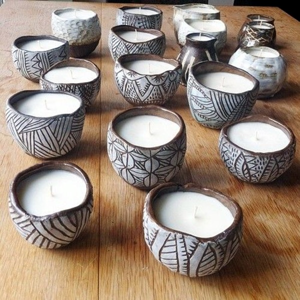 40 diy pinch pots ideas to try your hands on bored art for Design patterns for pot painting