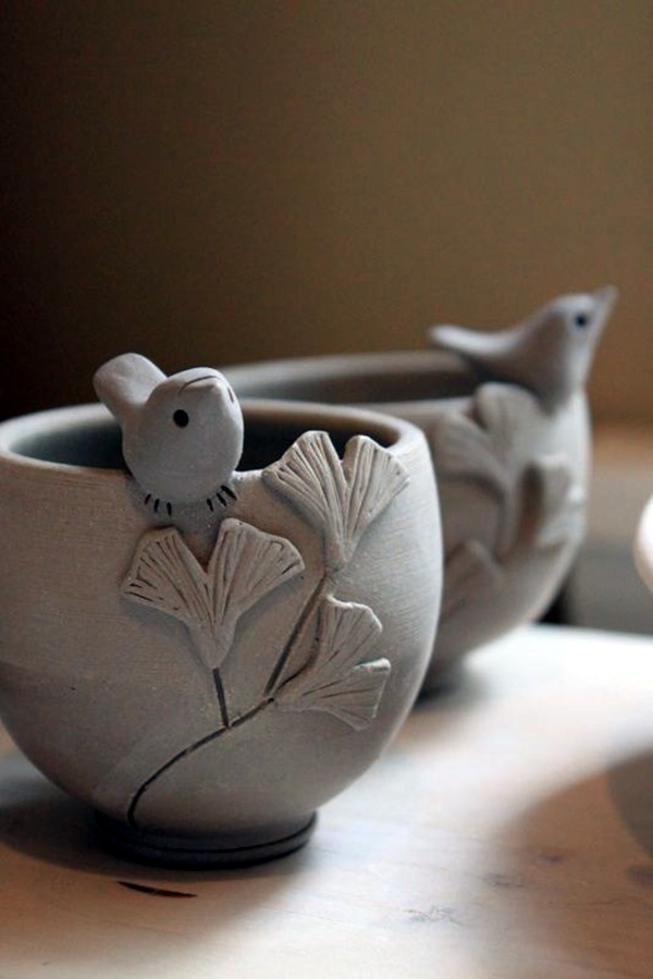 40 diy pinch pots ideas to try your hands on bored art for How to make ceramic painting