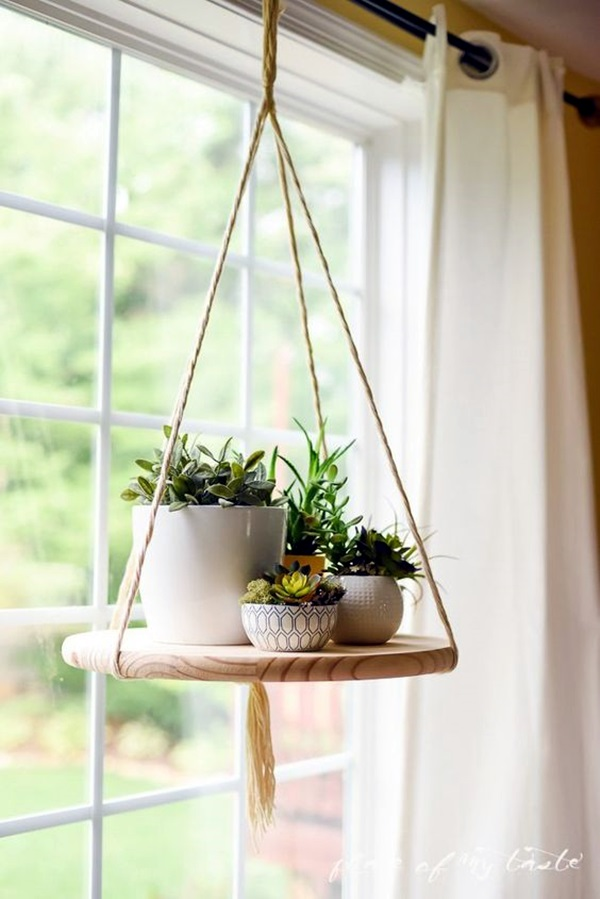 Elegant DIY Hanging Planter Ideas For Indoors (11)
