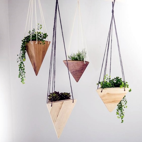 elegant diy hanging planter ideas for indoors 15 - Diy Hanging Planter