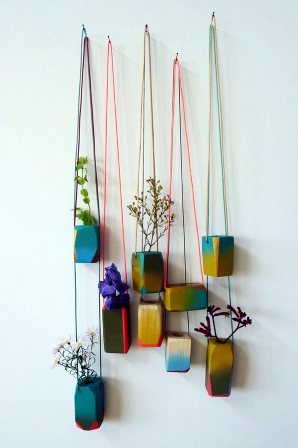 Elegant DIY Hanging Planter Ideas For Indoors (17)