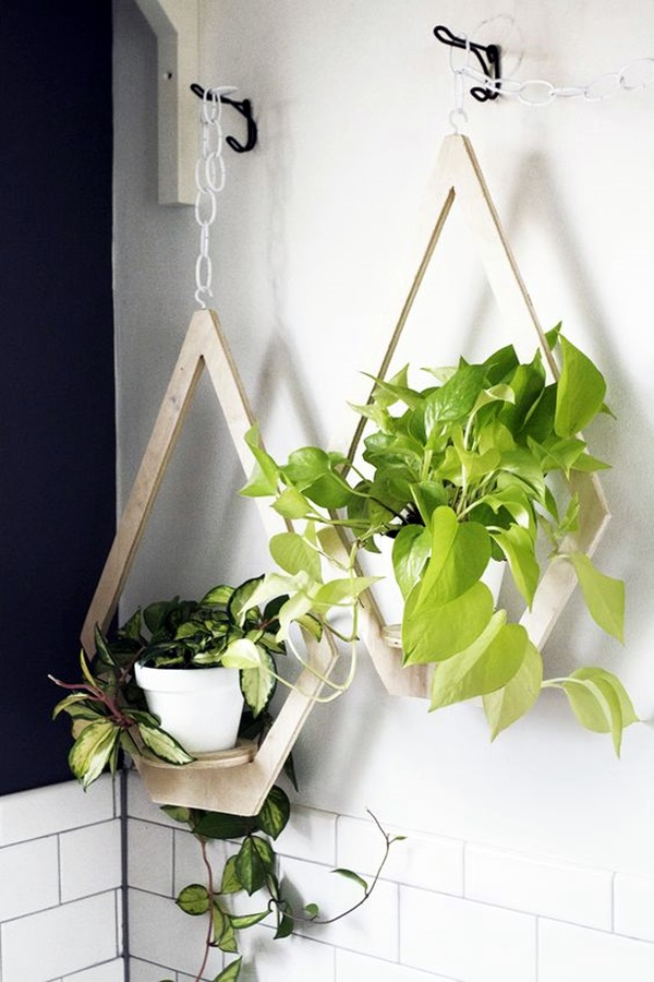 Elegant DIY Hanging Planter Ideas For Indoors (18)
