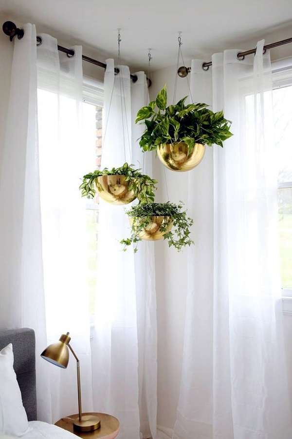 Elegant DIY Hanging Planter Ideas For Indoors (20)