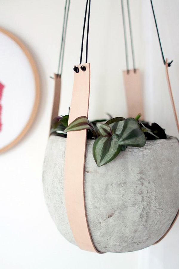 Elegant DIY Hanging Planter Ideas For Indoors (21)