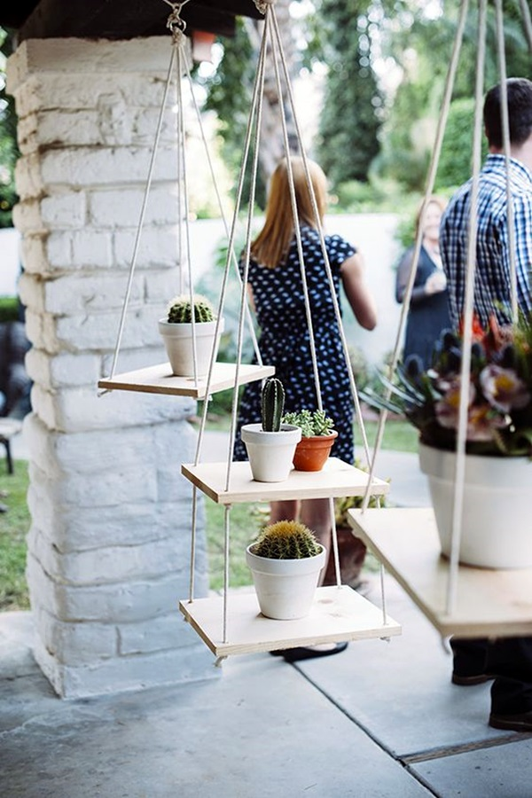 Elegant DIY Hanging Planter Ideas For Indoors (24)